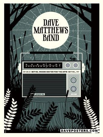 Poster Gallery - Dave Matthews Band Posters / DMB Posters ...