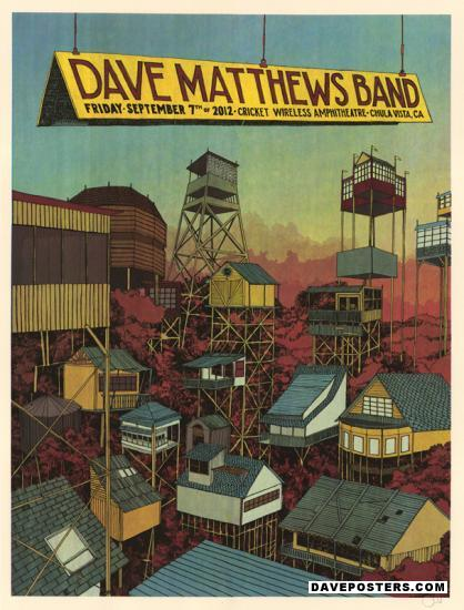 Poster Gallery Dave Matthews Band Posters Dmb Posters At Daveposters Com