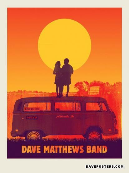 poster gallery dave matthews band posters dmb posters at. Black Bedroom Furniture Sets. Home Design Ideas